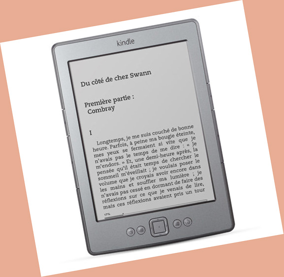 kindle confort lecture