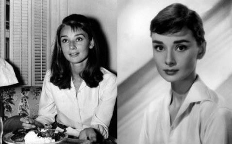 hepburn cheveux long