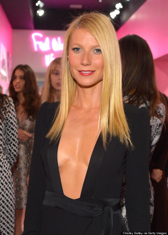 Gwyneth Paltrow décoletté