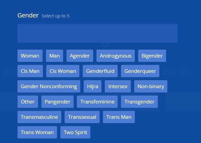 genre sexuel choix