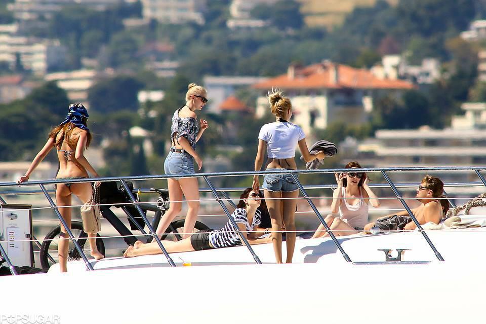 leo dicaprio sur son yacht