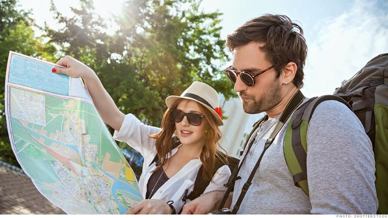 touriste en voyage