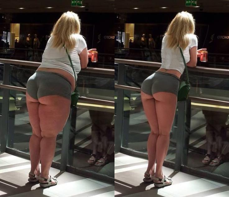 femme mince grosse