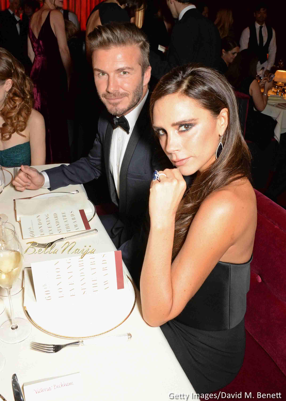 David et Victoria Beckham-