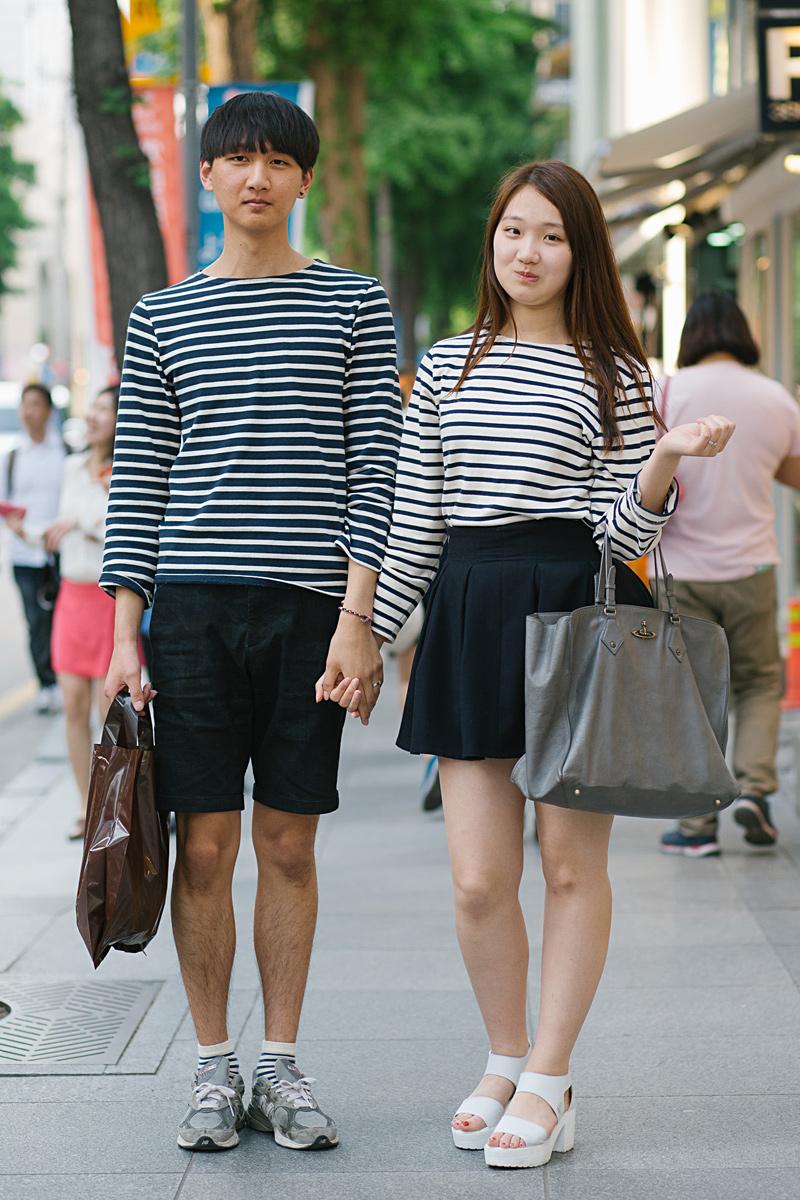 corée matchy-matchy couple