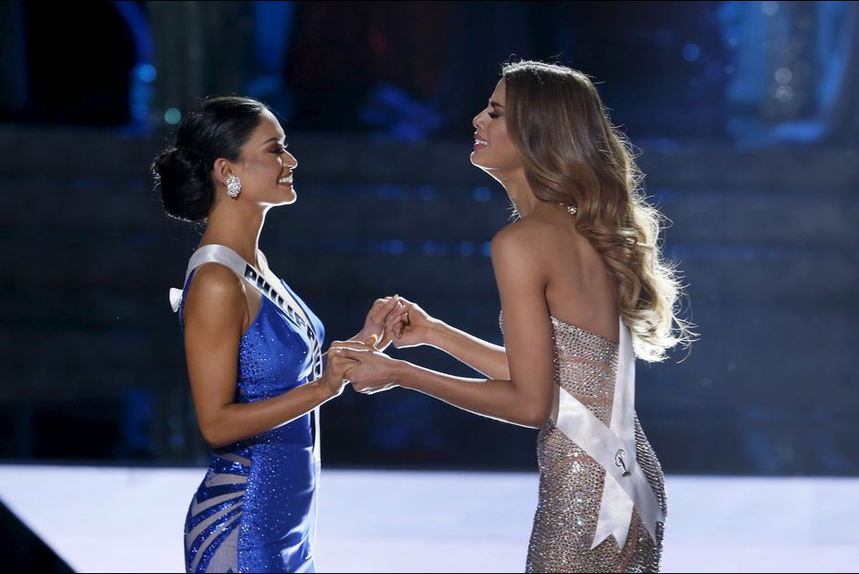 Miss-Philippines-Pia-Alonzo-Wurtzbach-et-Miss-Colombie-Ariadna-Gutierrez