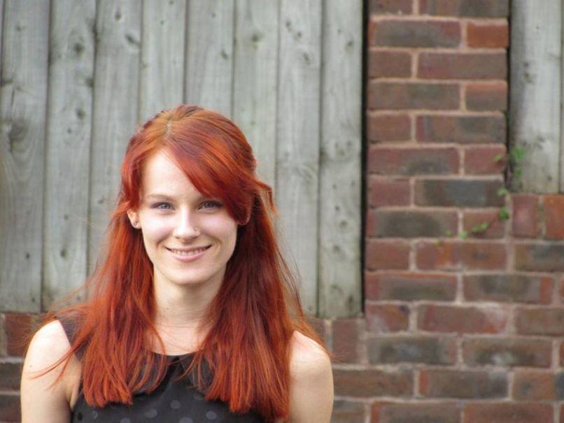 rousse beaux cheveux longs