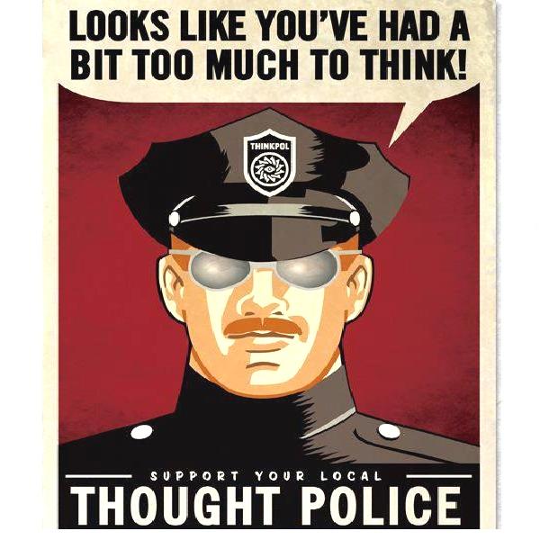 police de la pensée politiquement correct