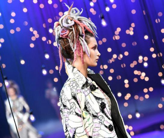 dreadlocks fashion weeks