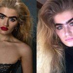 Son monosourcil la rend célèbre sur Instagram : est-ce la nouvelle tendance beauté ?