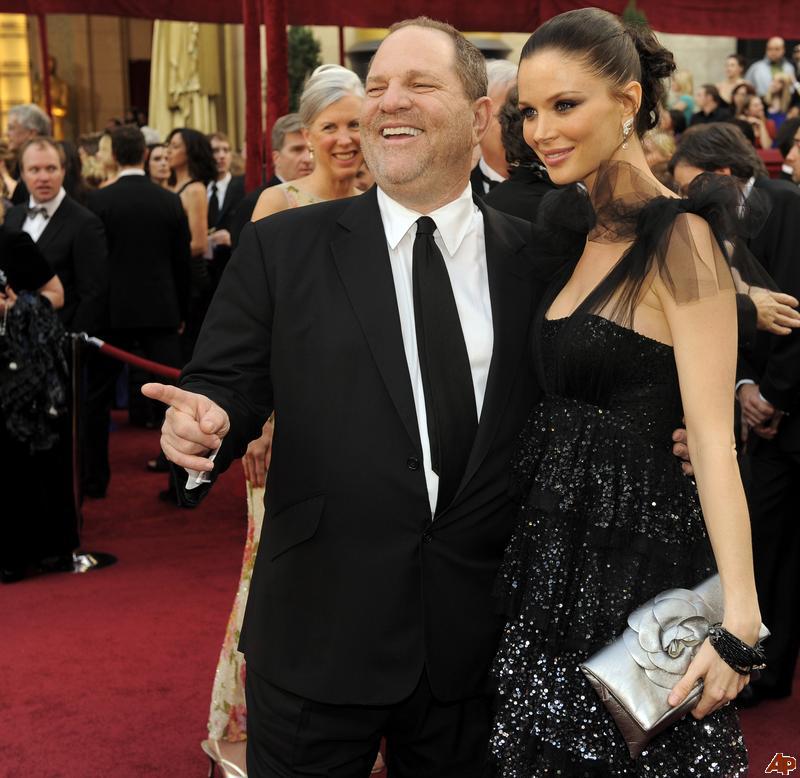 harvey weinstein et sa femme
