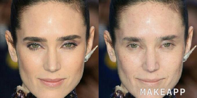 Jennifer Connely makeapp