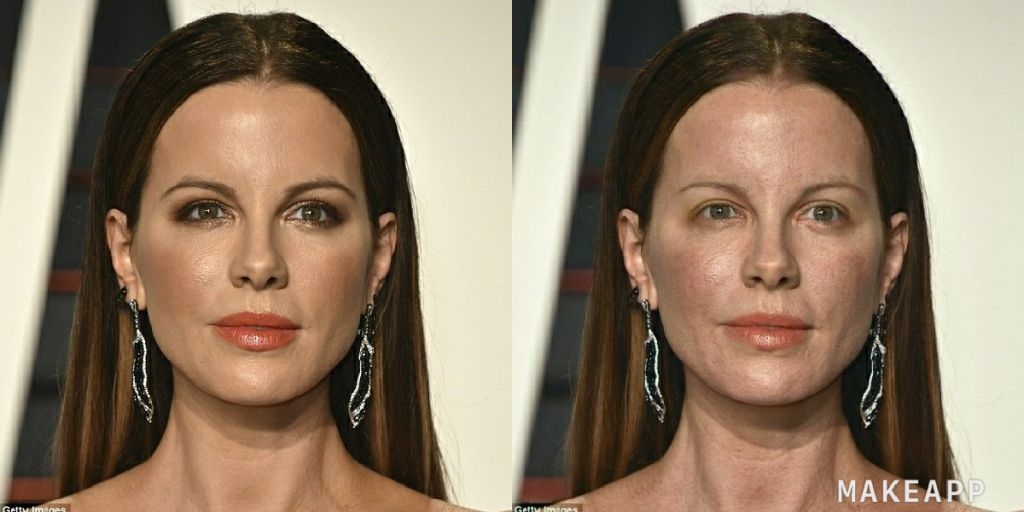 actrice makeapp maquillage filtre