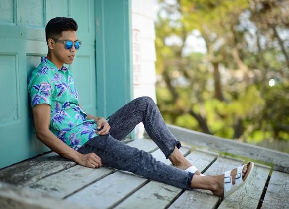 sandales-homme-mode
